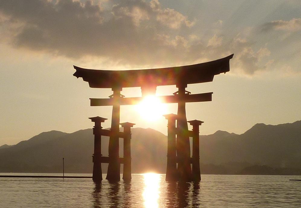 grande porte au japon